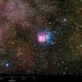 Тройная туманность — Мессье 20