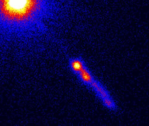 3C 273 - квазар в созвездии Дева