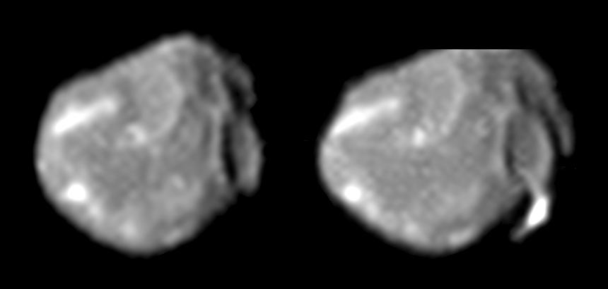 Амальтея, фото зонда Галилео