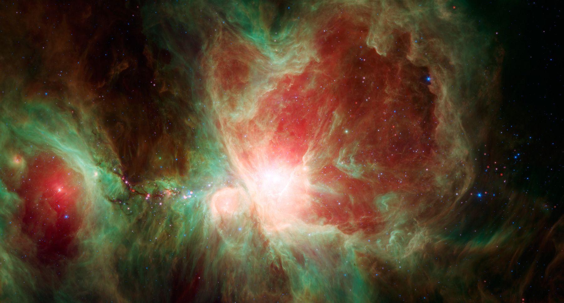 Снимок телескопа Спитцер