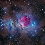 Самая знаменитая туманность в созвездии Ориона