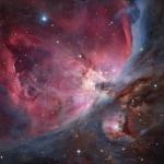 Трапеция Ориона — открытое звездное скопление в центральной части туманности Ориона