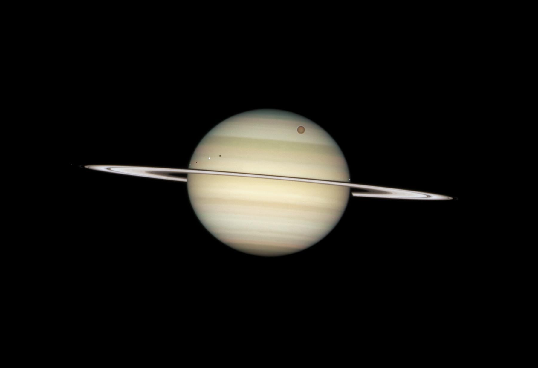 Вид в телескоп Хаббл