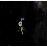 Вояджер в бескрайнем космосе