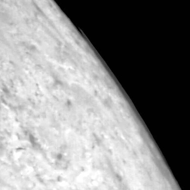 Облака на Тритоне, протяженностью 100 км