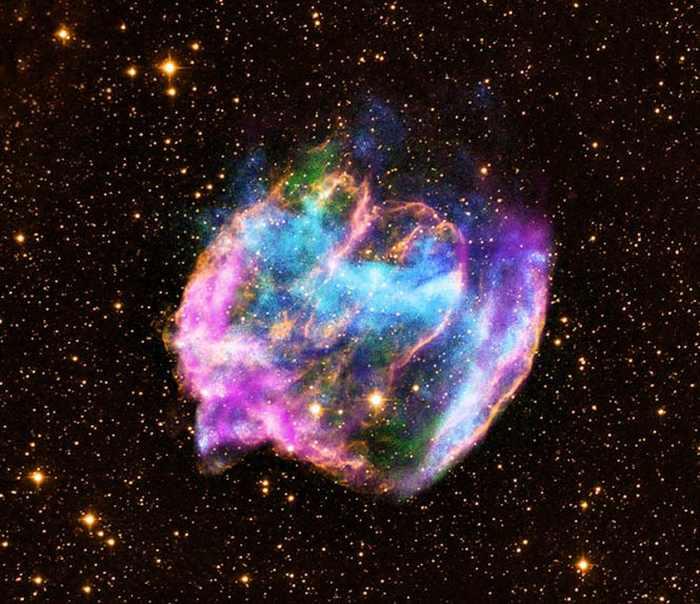 Остаток сверхновой звезды W49B