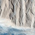 Что сформировало дно в кратере Гейла Результат действия воды или эрозии ветра Кьюриосити, надеюсь, даст окончательный ответ.
