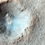 Малый кратер в средних широтах
