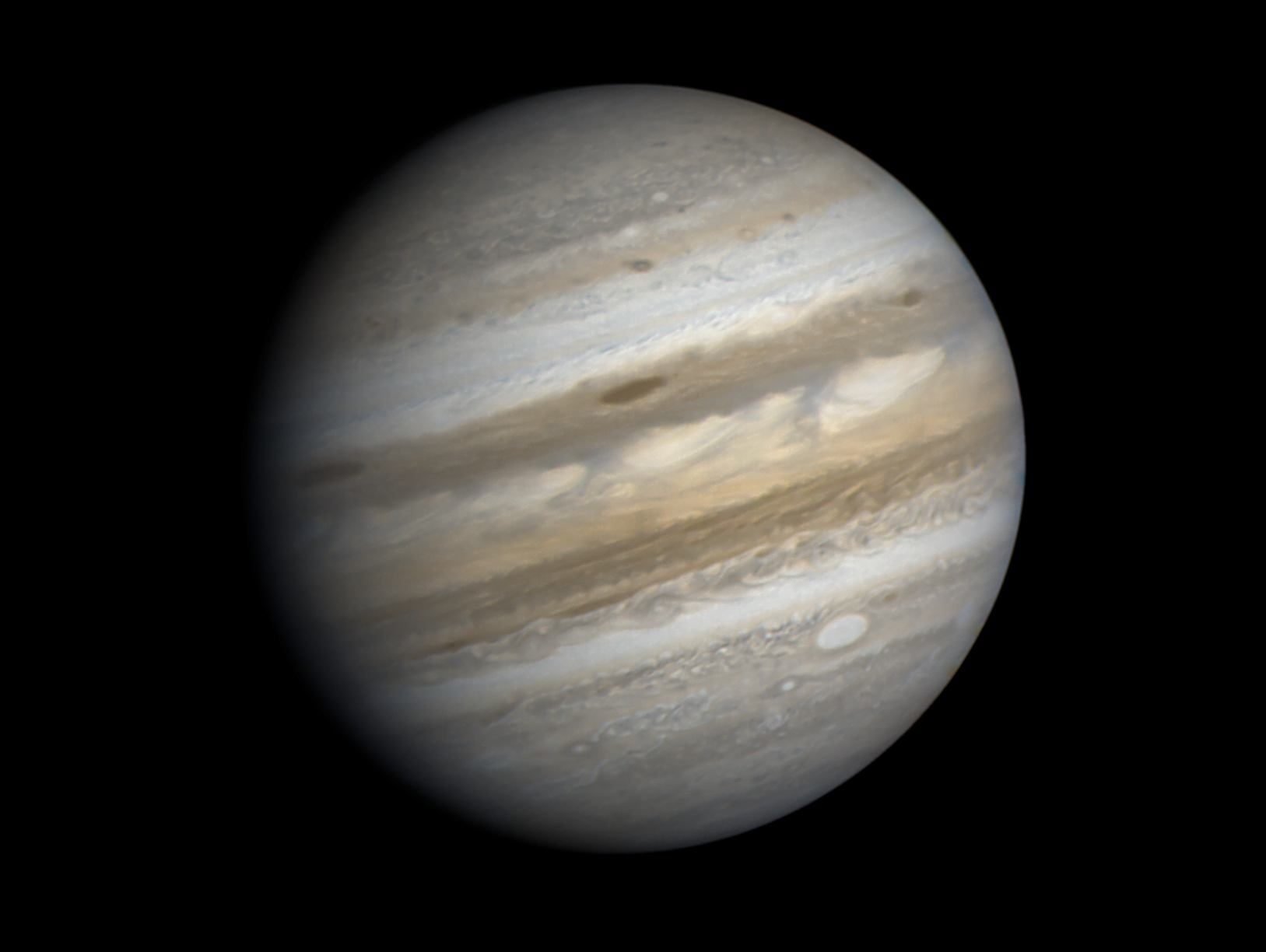 Юпитер, снимок зонда Вояджер-1