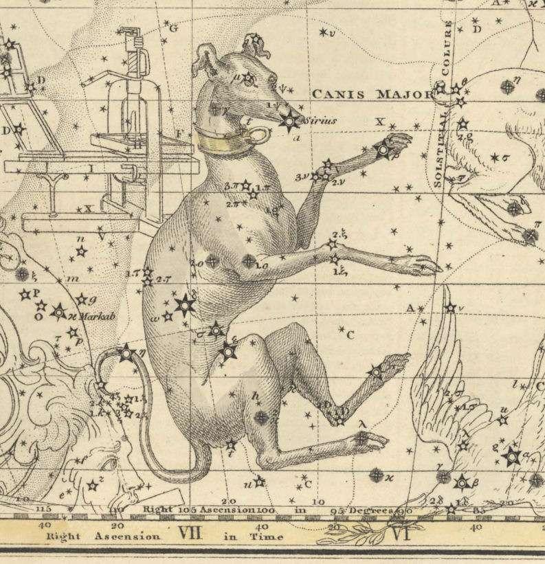 Изображение из атласа 1822 года