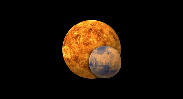 про картинки планеты марс и венеры как раз