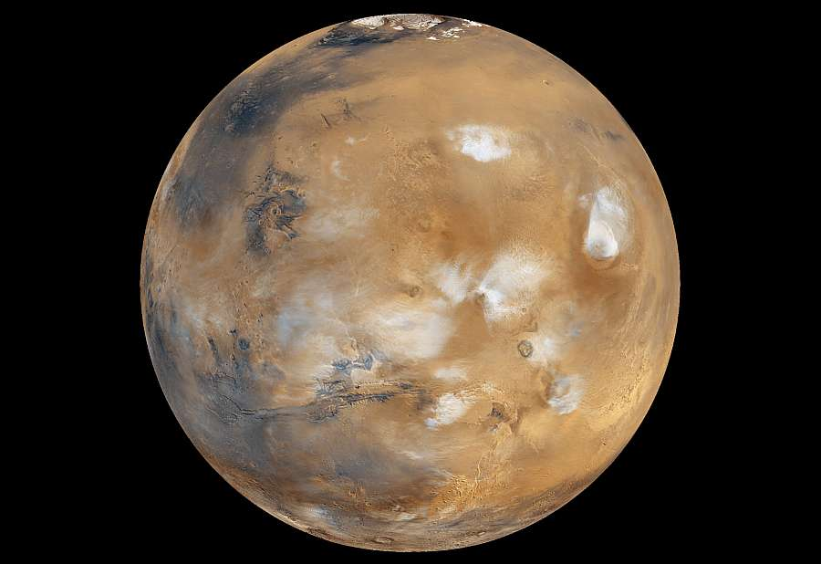 Марс, снимок из космоса