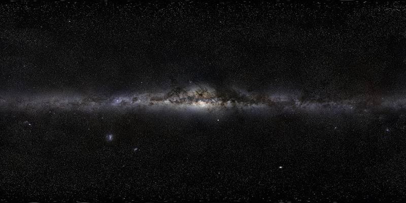 Панорама нашей галактики