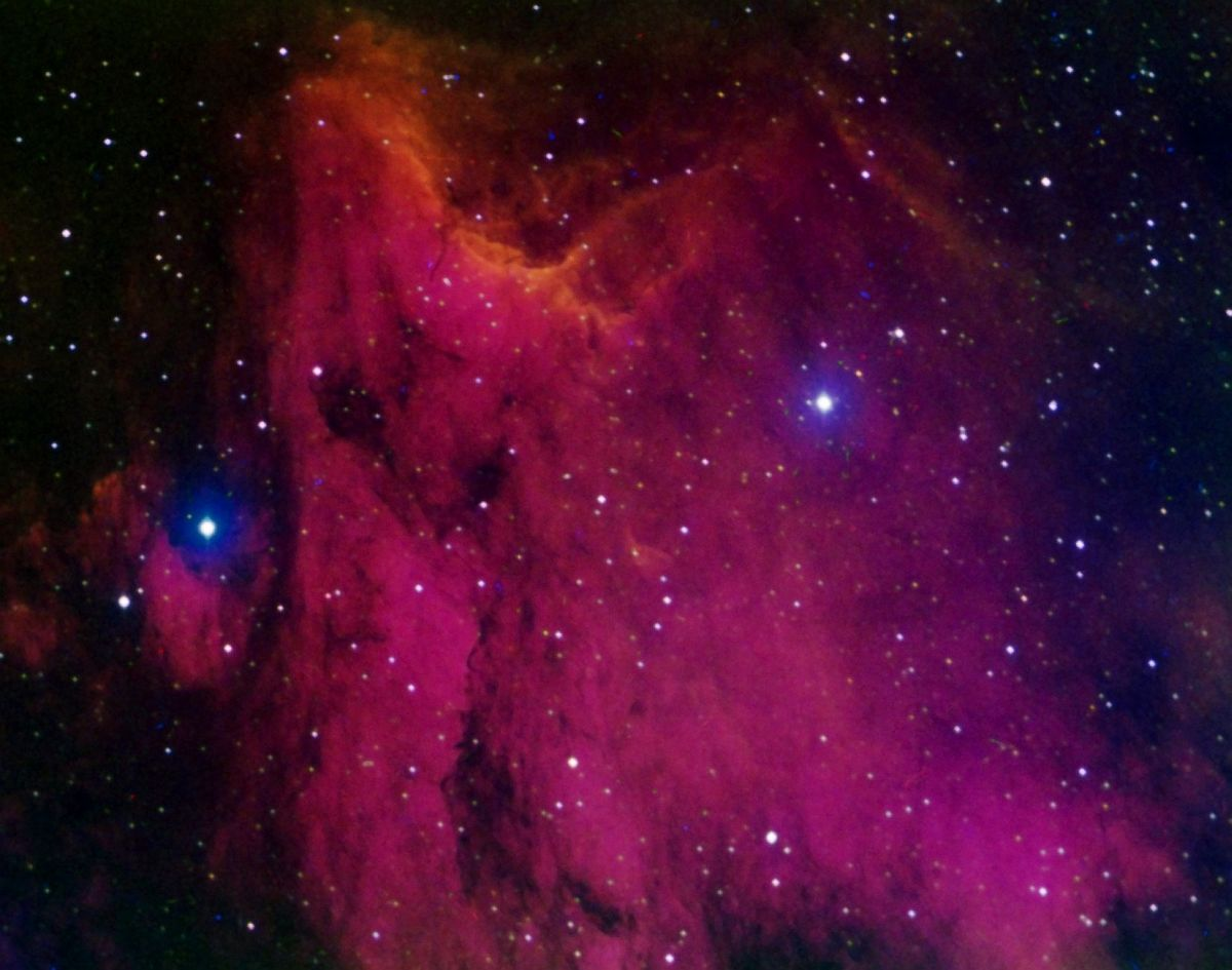 Эмиссионная туманность IC 5070 или Пеликан