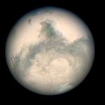 Марс, снимок космического телескопа Хаббл в 2003 году