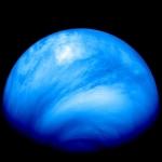 Венера, снятая в ультрафиолетовом диапазоне аппаратом Venus Express.