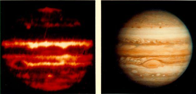 Планета в ИК спектре