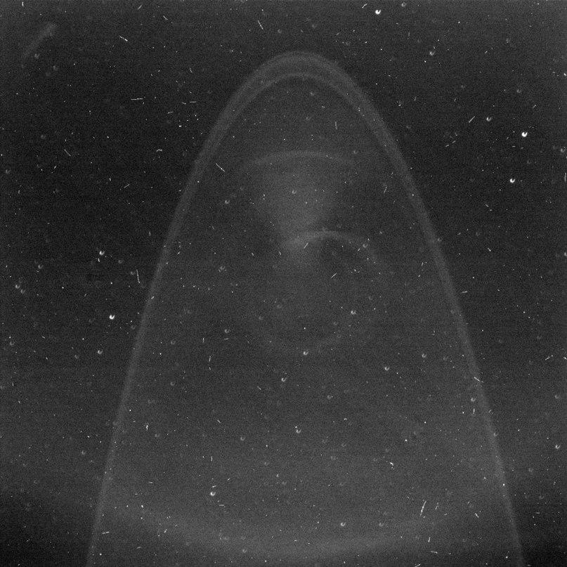 Снимок кольца Юпитера сфотографированные зондом Новые Горизонты