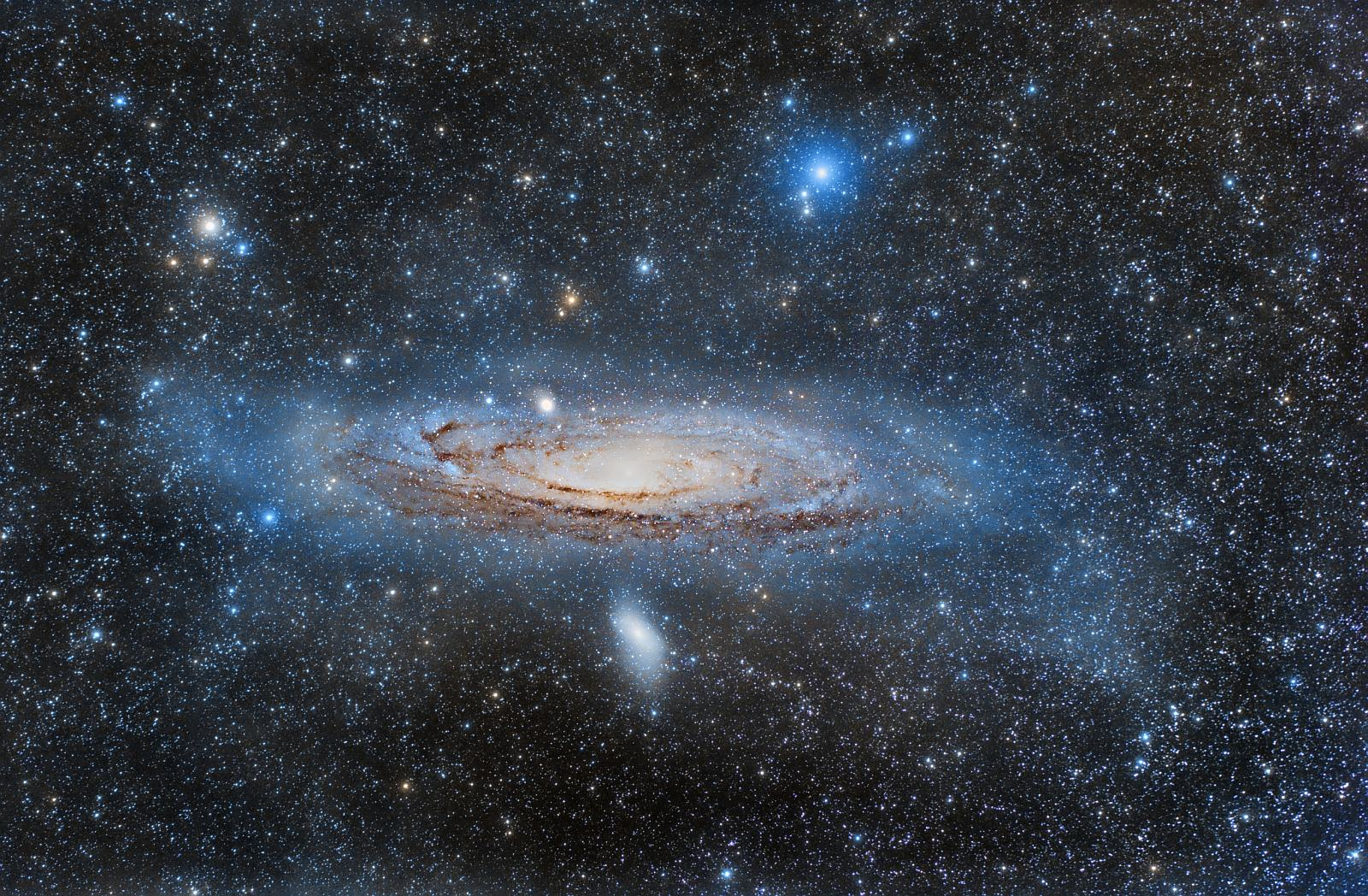 andromeda galaxy distance from earth - HD 2741×1796