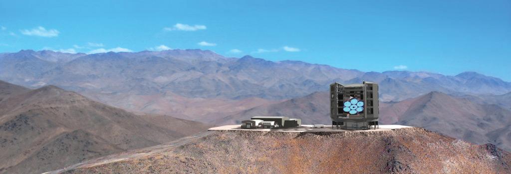 Гигантский Магелланов телескоп GMT