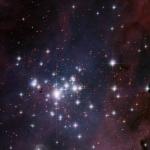 Trumpler 14 - молодое звездное скопление расположенное в туманности Киля