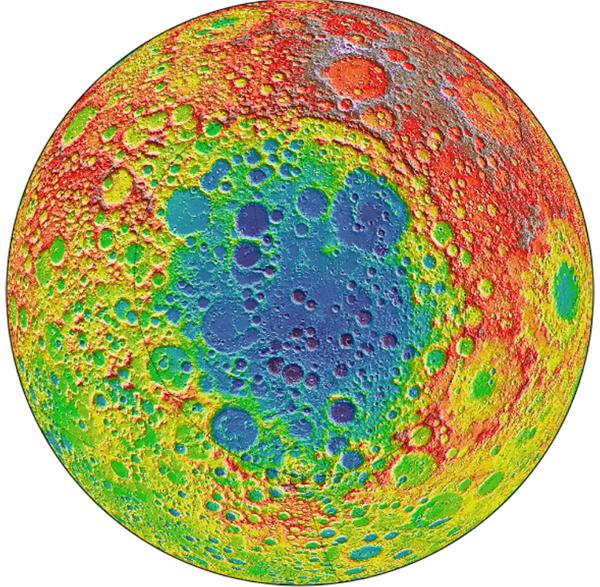Геологическая карта Луны