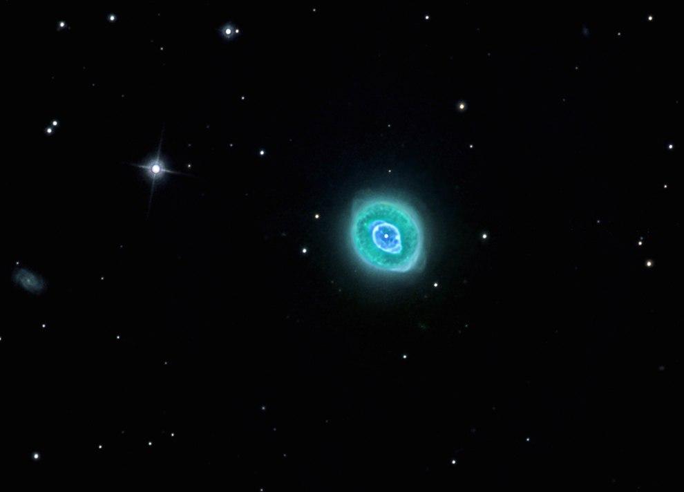 Планетарная туманность NGC 3242, также известная как Призрак Юпитера