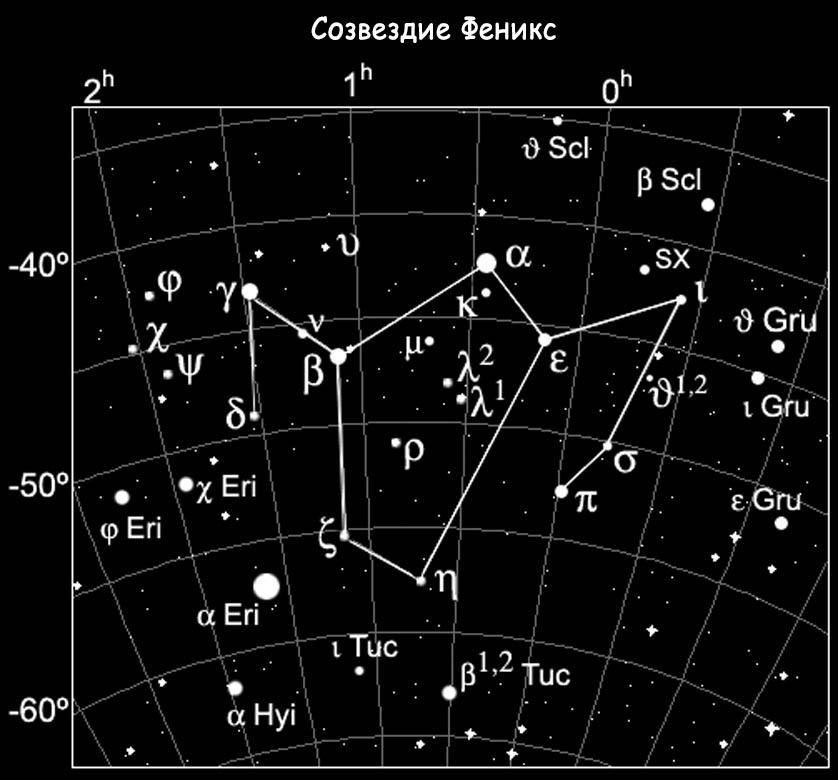 Созвездие Феникс