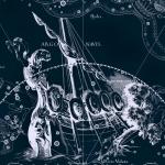 Созвездие Корма, рисунок Яна Гевелия из его атласа созвездий