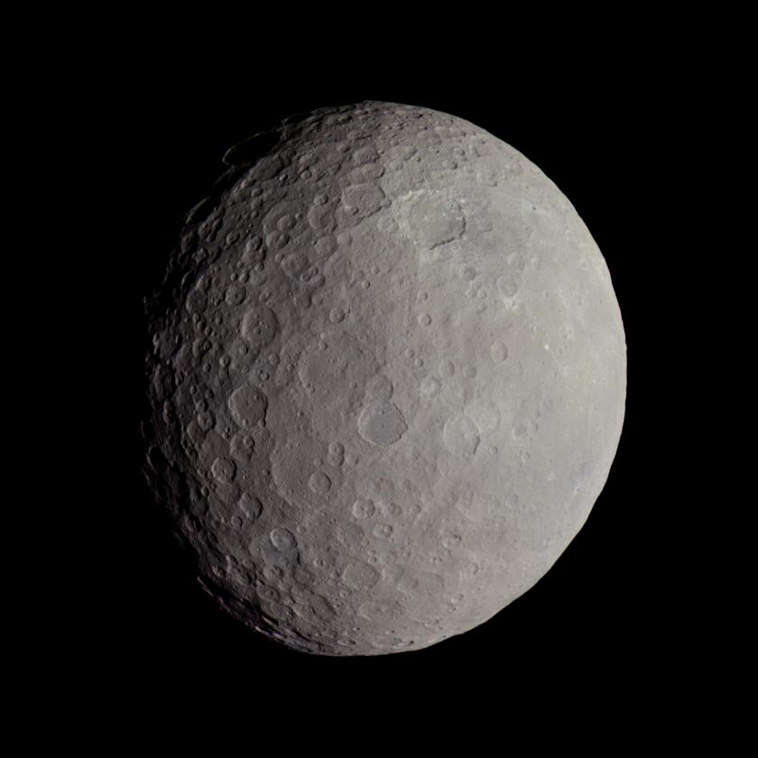 Церера, снимок межпланетного зонда Dawn