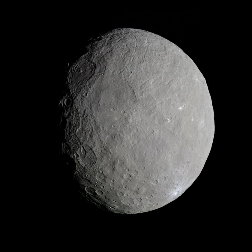 Церера, снимок зонда Dawn