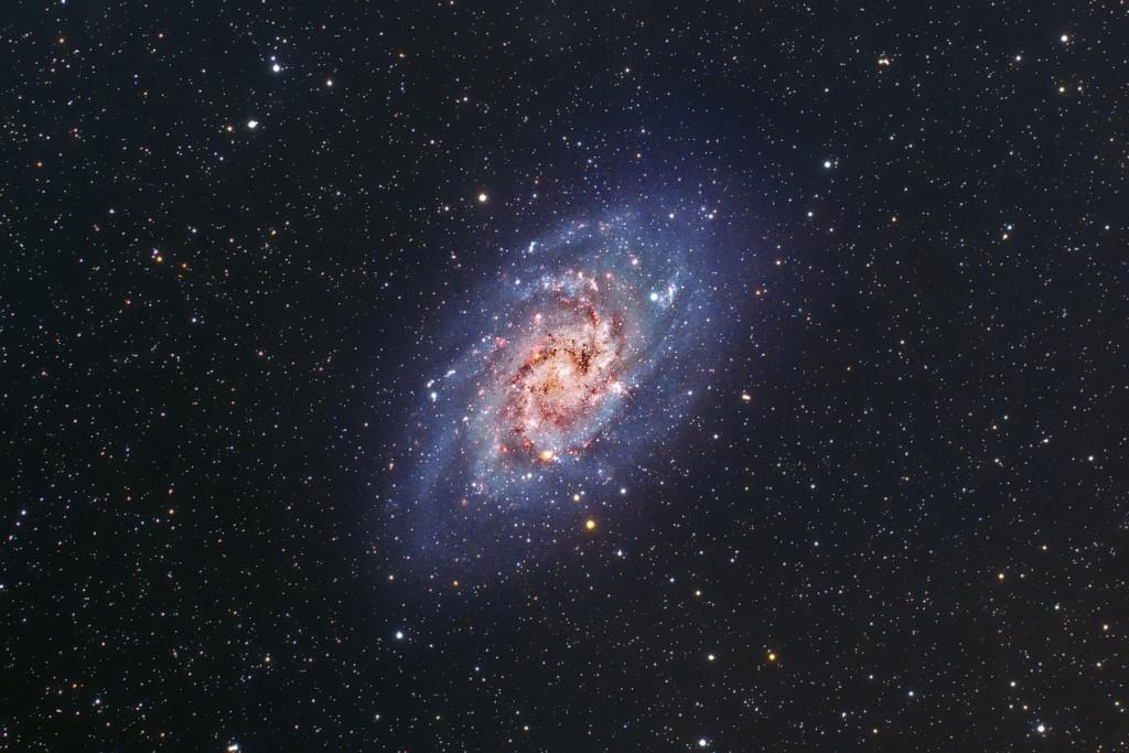 Галактика M33 от Raul Villaverde