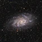 Галактика M33 в Треугольнике