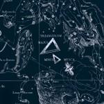 Треугольник, рисунок Яна Гевелия из его атласа созвездий