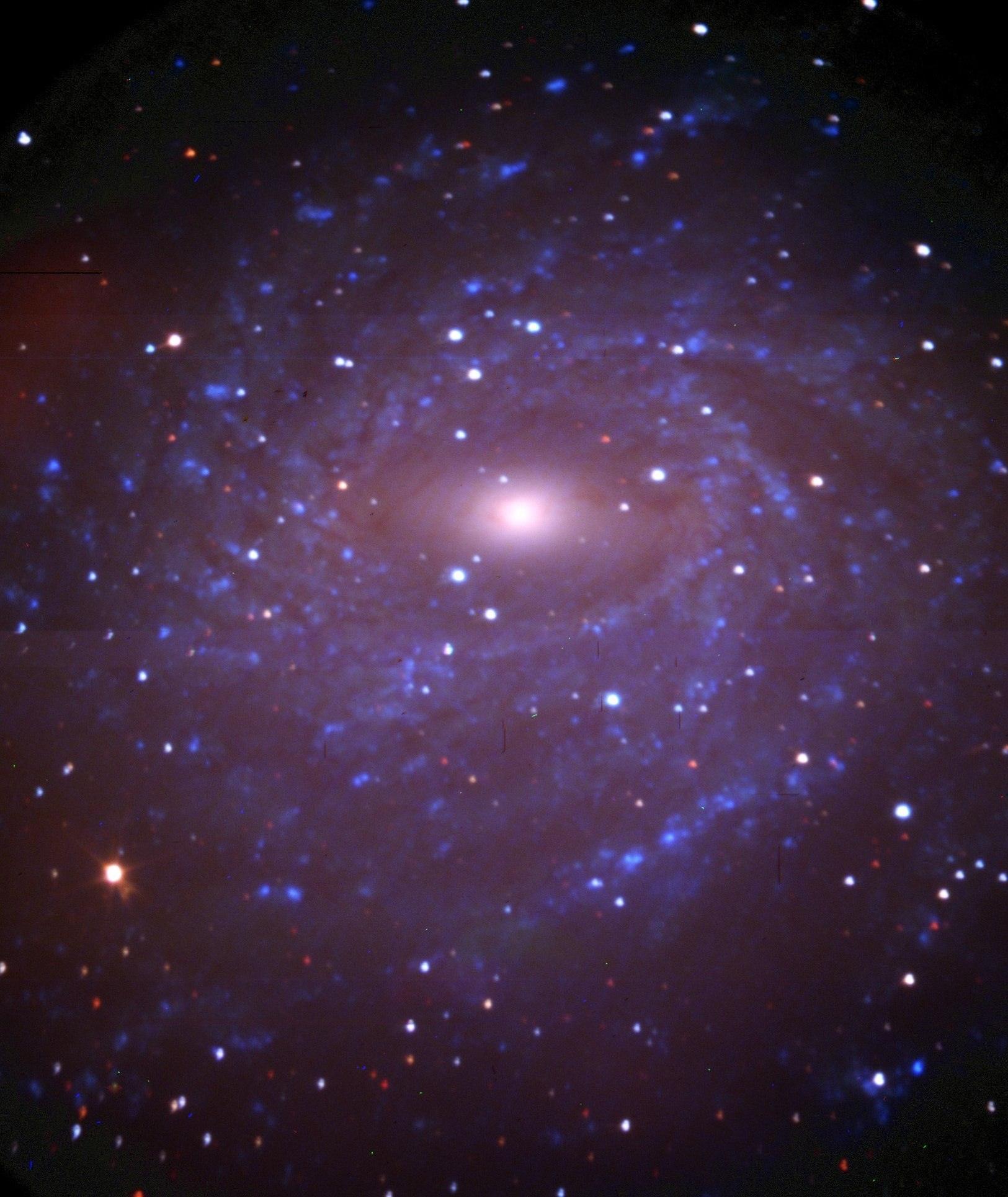 NGC 6744 в ИК диапазоне