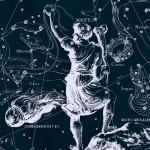 Созвездие Волопас, рисунок Яна Гевелия
