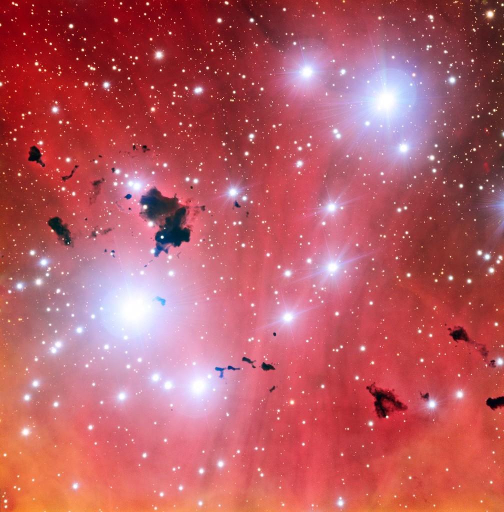 Глобулы, снимок телескопа VLT