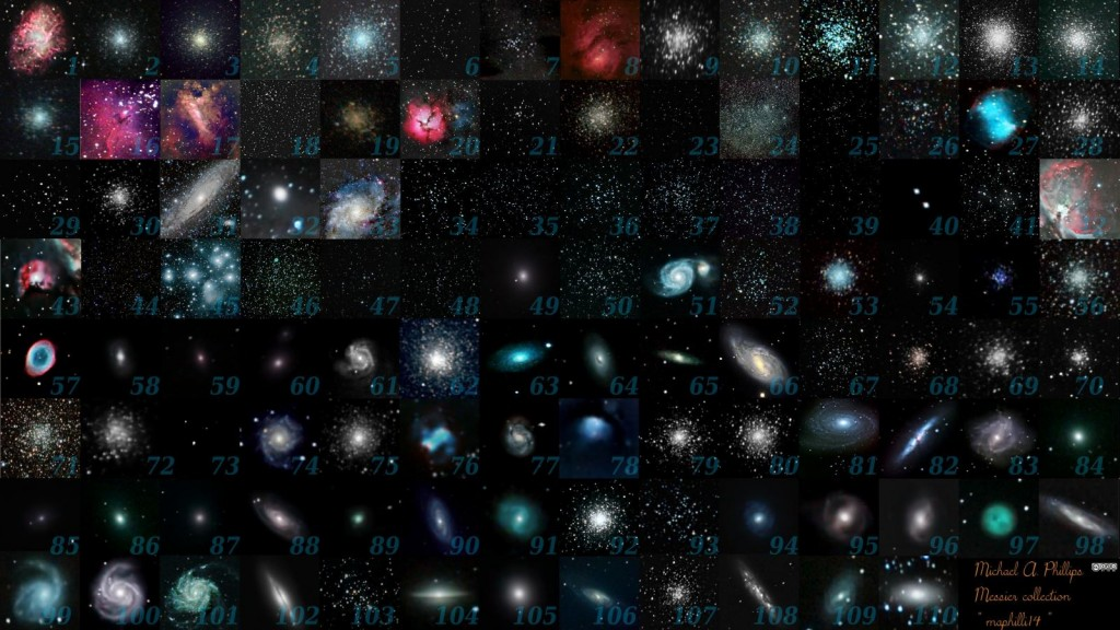 Каталог от астрофотографа Michael A. Phillips
