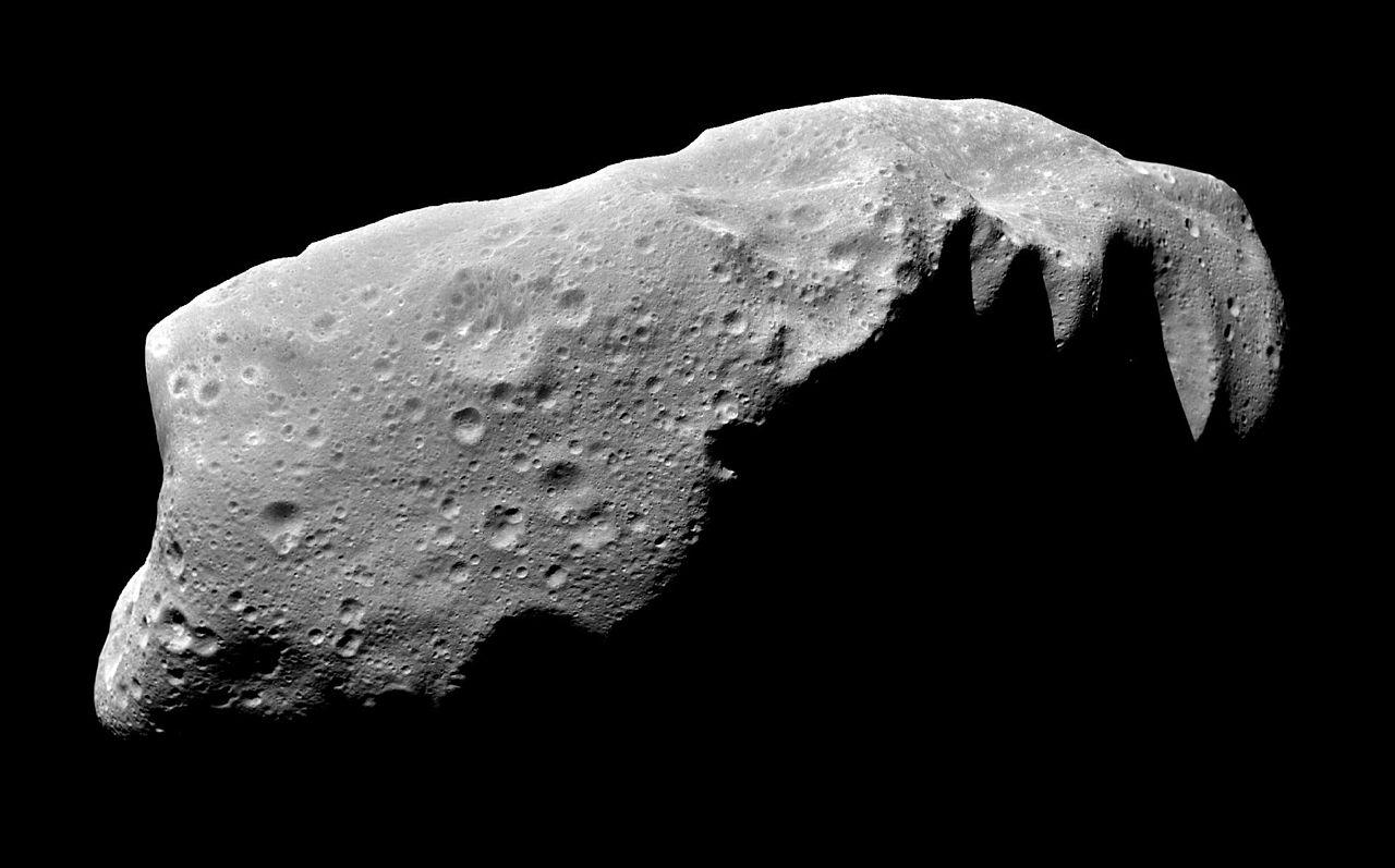 Изображение Иды, снятое зондом «Галилео»