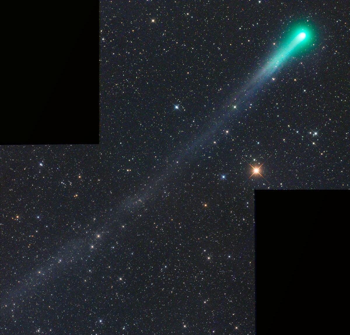 Комета Каталина, октябрь 2015
