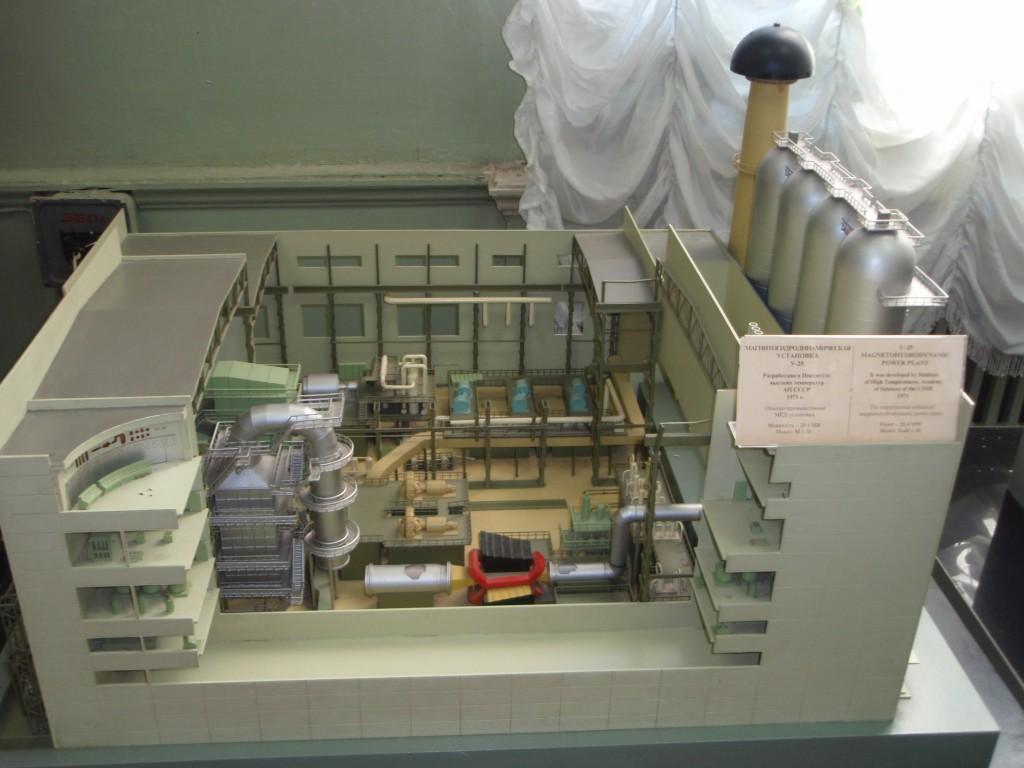 Модель магнитогидродинамической установки
