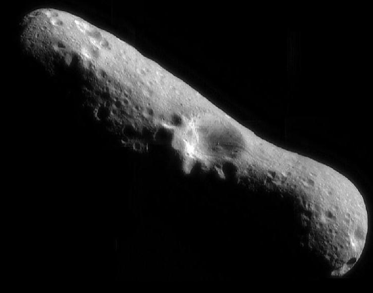 Эрос, представитель астероидов класса S