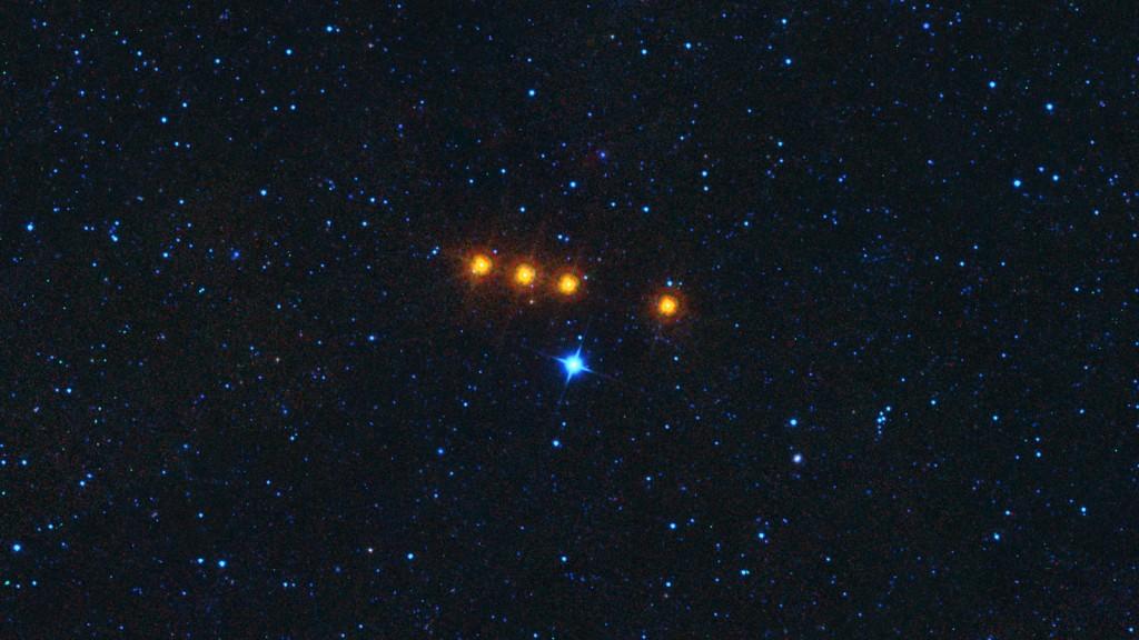Семейство астероидов Ефросины в инфракрасном спектре