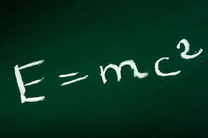 Формула теории относительности