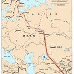 Траектория полета  У-2 над СССР, которые осуществлялись с Ближнего Востока до Норвегии