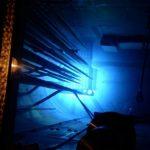 Черенковское излучение в ядерном реакторе