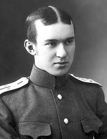 Д.Д. Максутов в юности