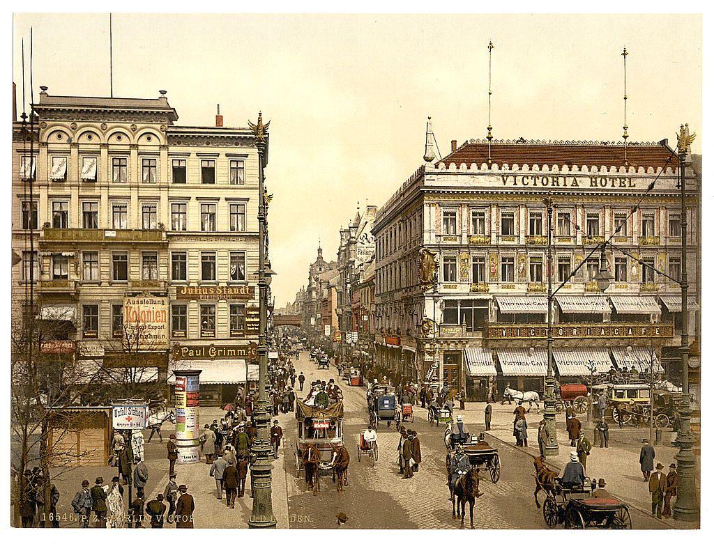 Германия конец XIX столетия
