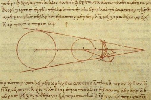 Вычисления Самосского относительно Радиуса спутника Земли