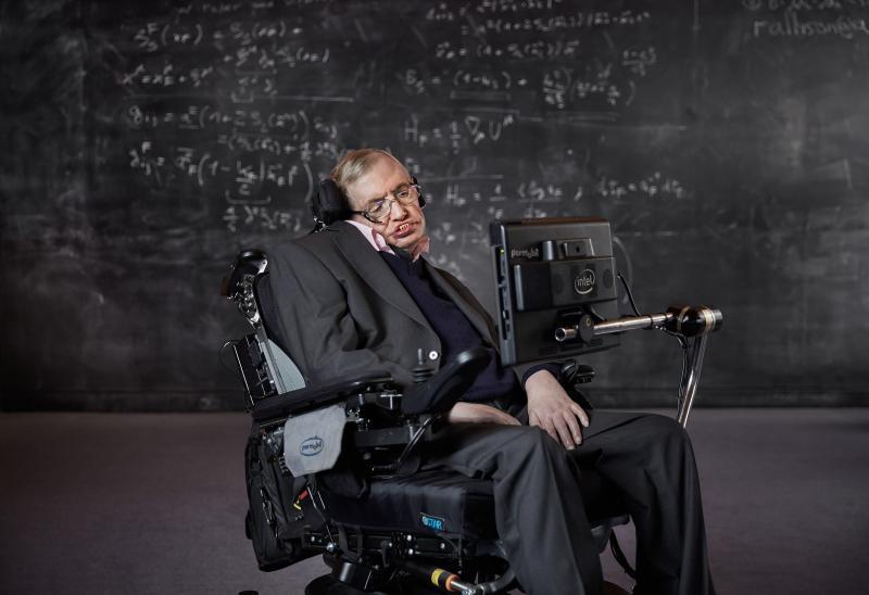 Профессор Стивен Хокинг